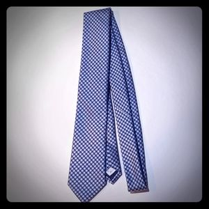 Blue & Silver checked Goodfellow tie